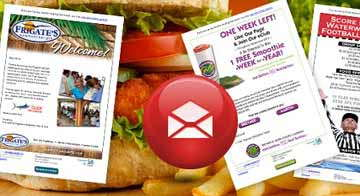 Restaurant Email Marketing - What's On The Menu